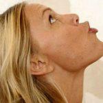 Gymnastique faciale double menton mincir