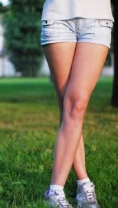 mincir des jambes