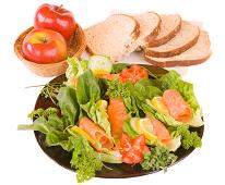 Repas équilibré pour maigrir et brûler les graisses