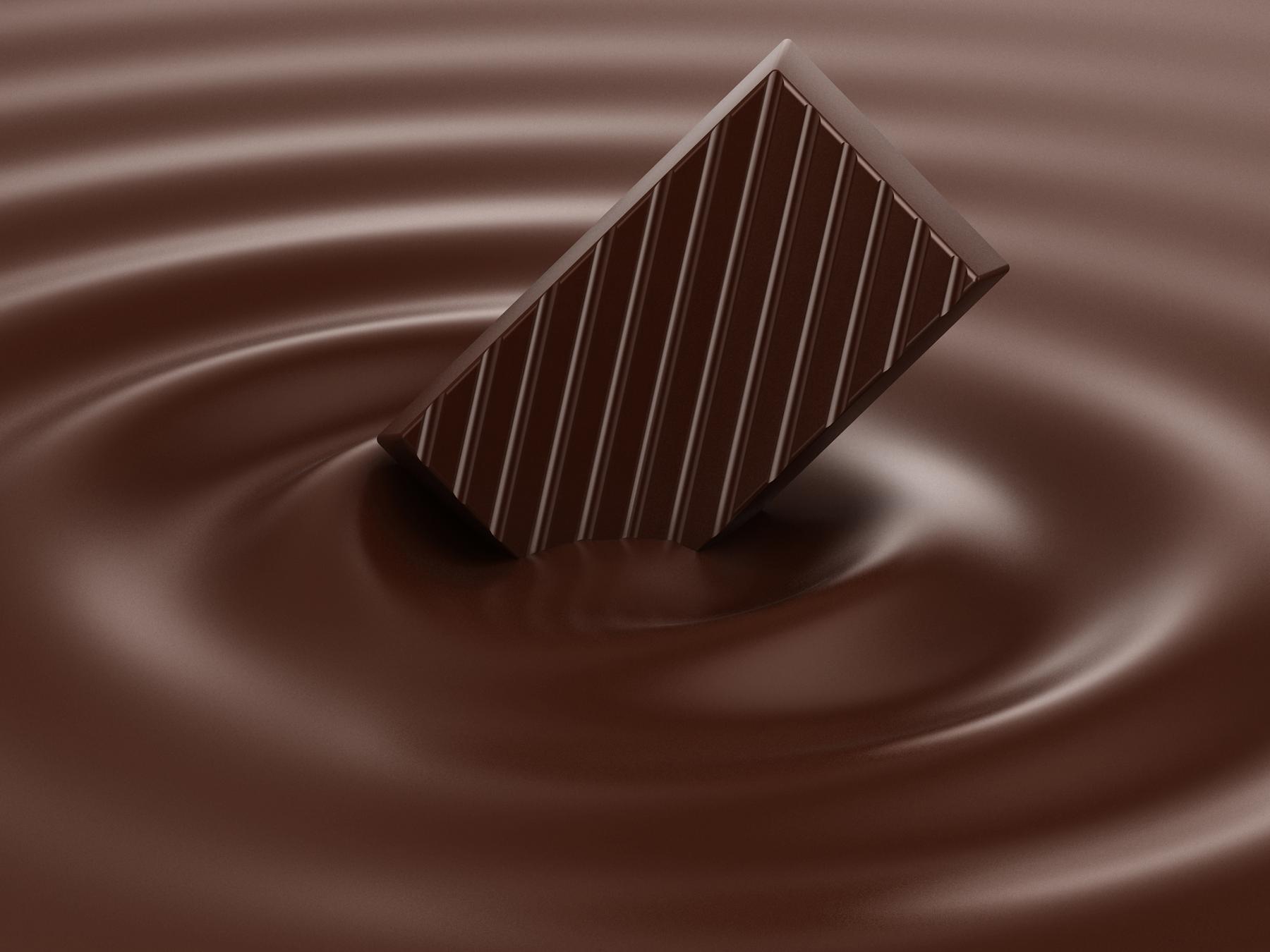 Recette pour mincir de crème au chocolat